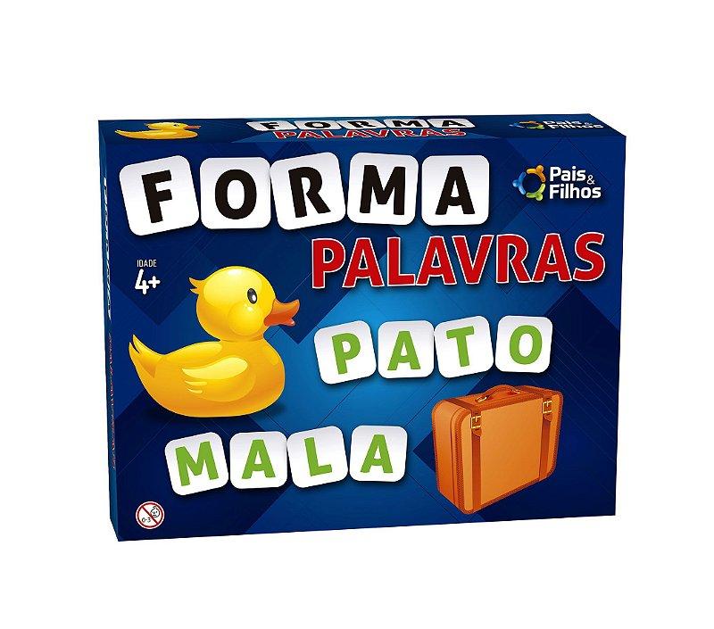 FORMA PALAVRAS - ESCOLAR