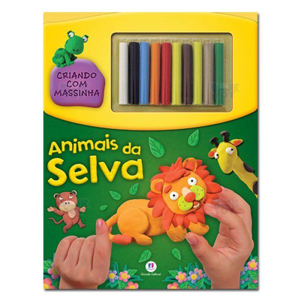Animais da selva (livro massinha)