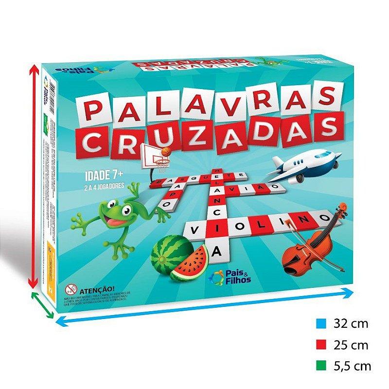 PALAVRAS CRUZADAS Junior JR - para crianças