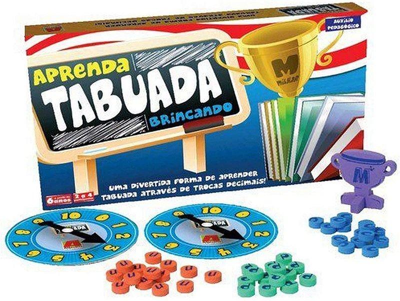 JOGO DA TABUADA  - APRENDER BRINCANDO