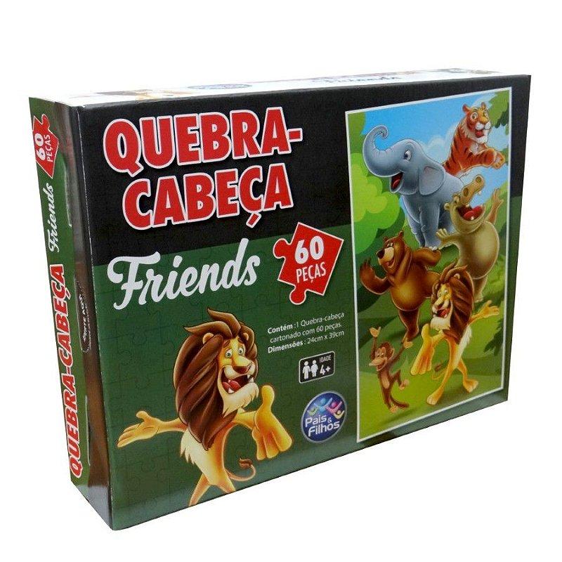 Q. CABECA FRIENDS 60 PCS - PREMIUM