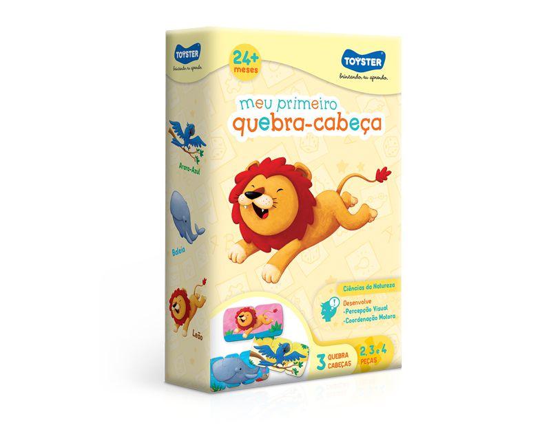MEU PRIMEIRO QUEBRA-CABEÇA 2/3/4 - Toyster