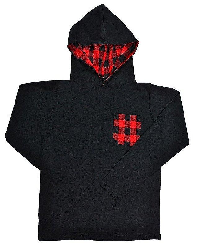Camiseta Capuz Lumberjack