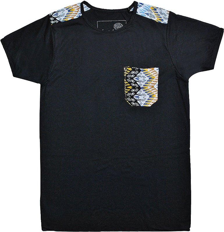 Camiseta Étnica Black