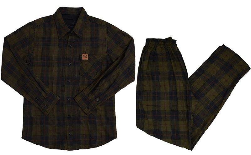 Conjunto Lumberjack Verde