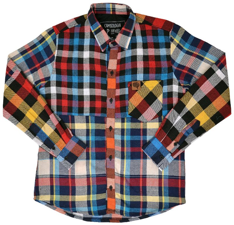Camisa Patchwork Color