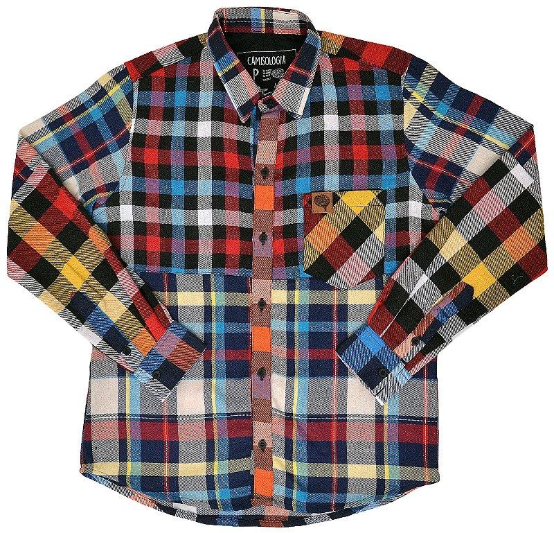 Camisa Patchwork Color