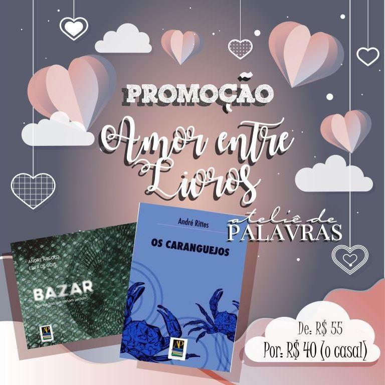 *Promoção Amor entre Livros - Kit 3