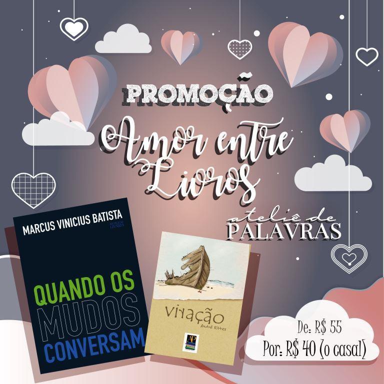 *Promoção Amor entre Livros - Kit 4