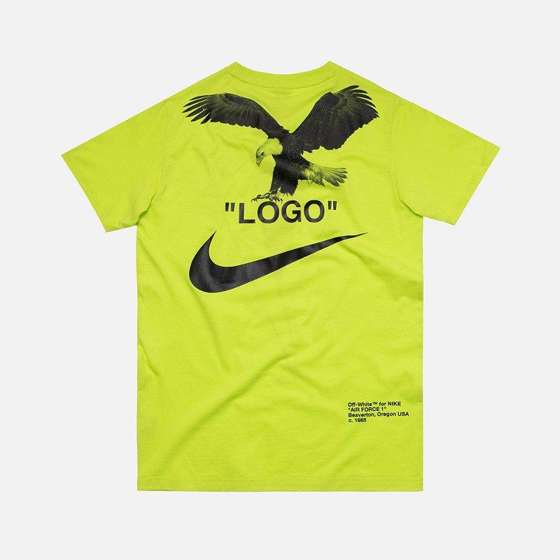 Hipócrita Atlético Perfecto  Camiseta Nike X OFF-WHITE NRG - Green - Four Gang