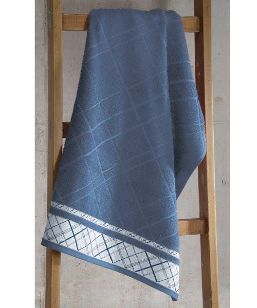 Toalha de Rosto Dohler Jacquard Premium Azul