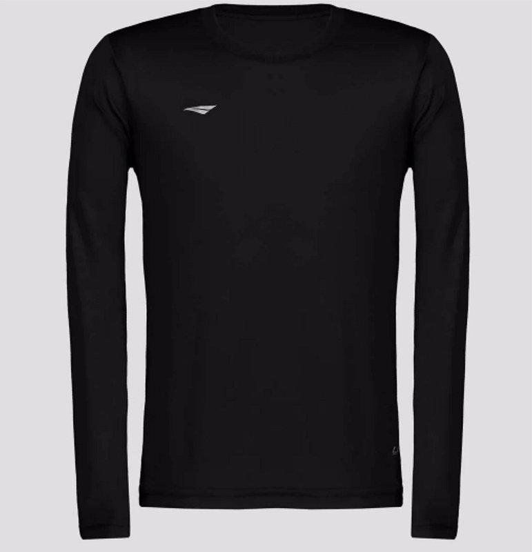 Camiseta Penalty Matis Manga Longa Juvenil - Preto 3105859000