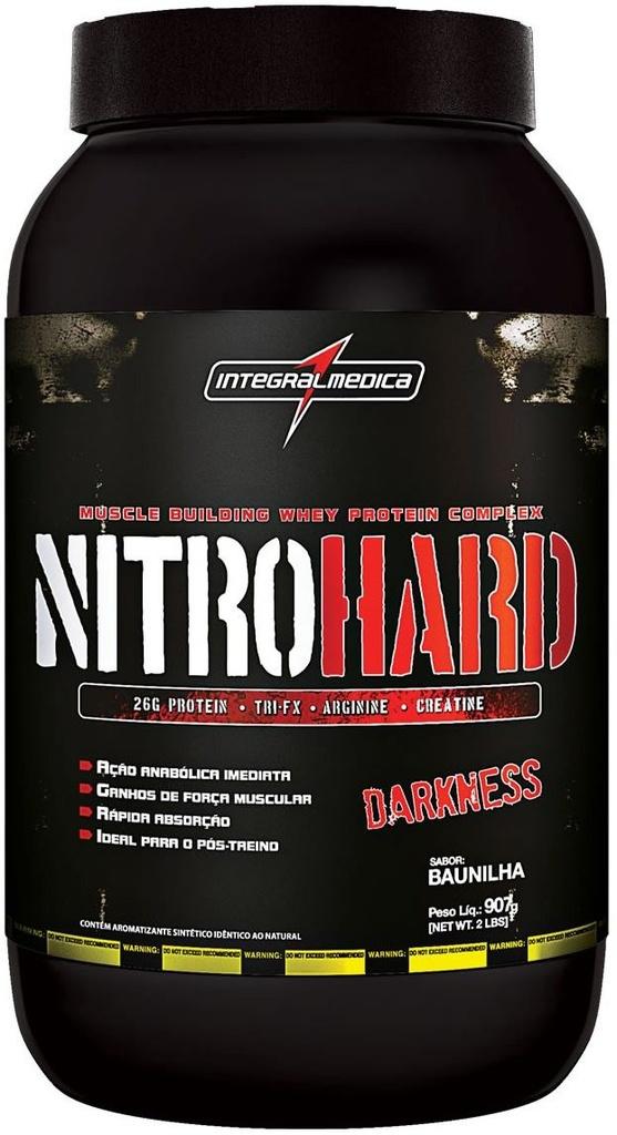 0091bbe7a Nitro Hard Darkness (907g) - IntegralMedica - Nutriform - Loja de ...