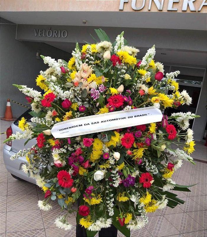 Coroa De Flores G
