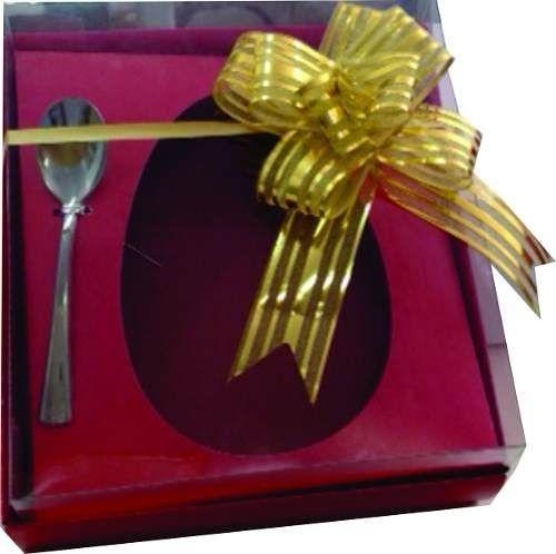 Caixa de Ovo de Colher 350 / 500 g  PACOTE COM 1.000 UNIDADES