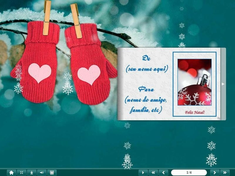 E-Card Natal - Mod 11