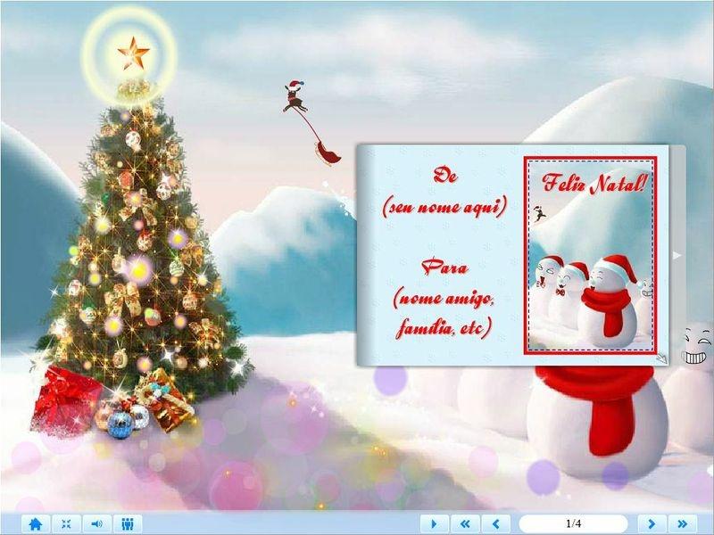 E-Card Natal - Mod. 02