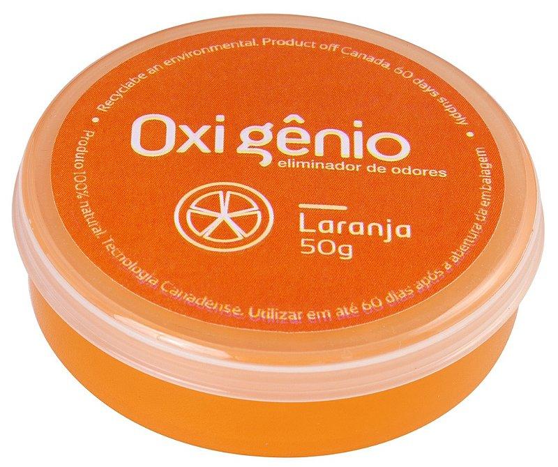 OXIGÊNIO GEL LARANJA - ELIMINADOR DE ODORES (Gel)