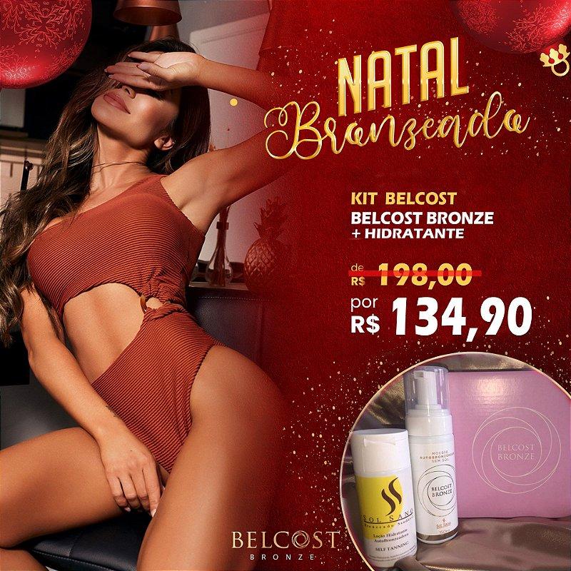 Kit Belcost Bronze + Hidratante Sol Sano