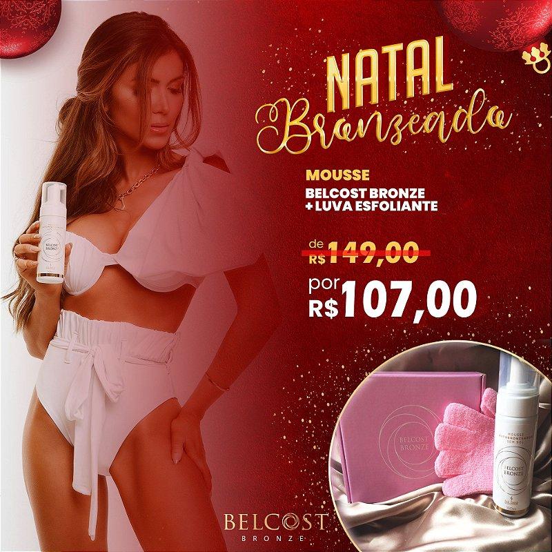Promo Especial Kit Belcost Bronze + Luva Esfoliante