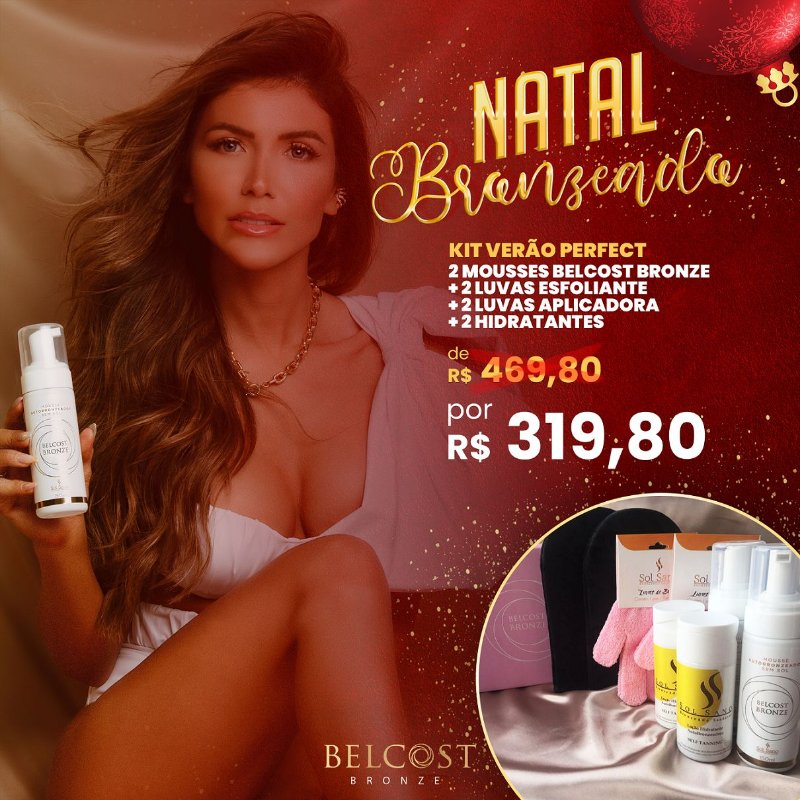 Kit Verão Perfect Belcost Bronze