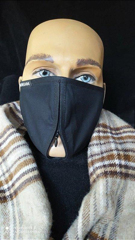 Máscara Masculina  De Proteção Reutilizável Lavável Reutilizável