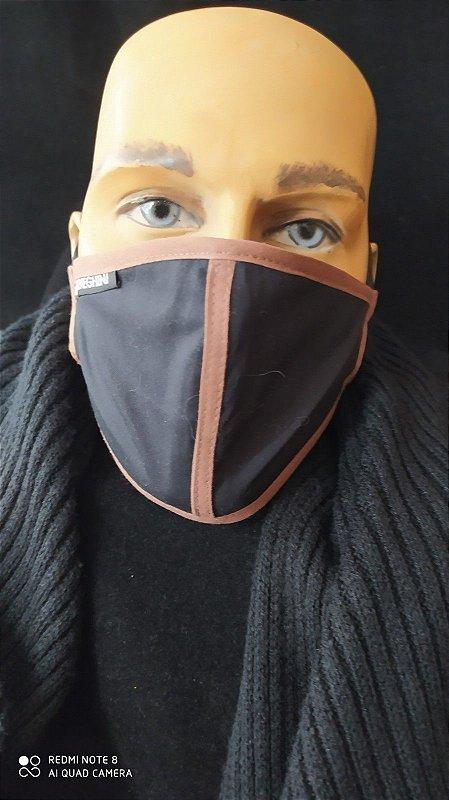 Máscara Masculina  De Proteção Reutilizável Lavável