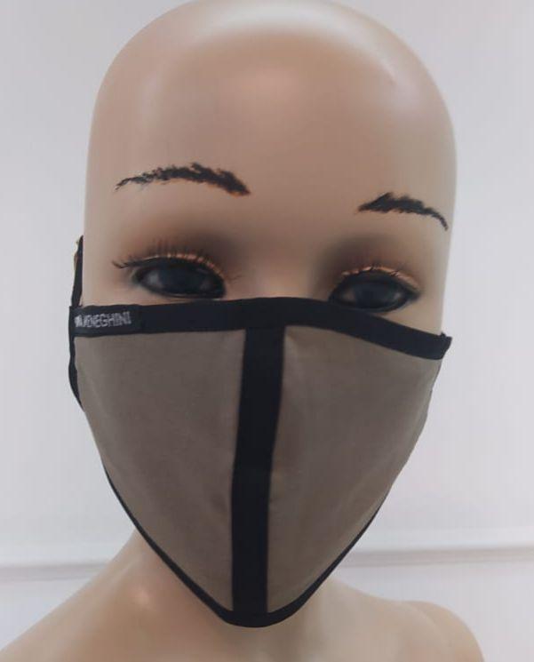 Máscara Feminina de Proteção em Tecido Reutilizável Lavável