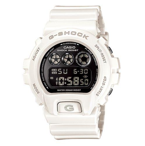c6b1549450f Relógio Casio G-SHOCK Branco DW-6900NB-7DR - Toca Militar