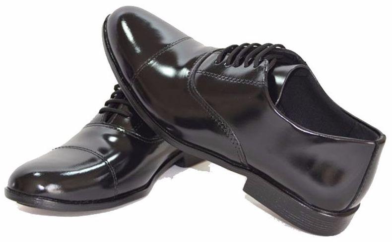 e464cb1fa2 Sapato Preto Social Militar | Compre Online - Toca Militar | Artigos ...