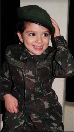 9a4d5d14ab Farda Camuflada Infantil Exército Brasileiro   Compre Online - Toca ...