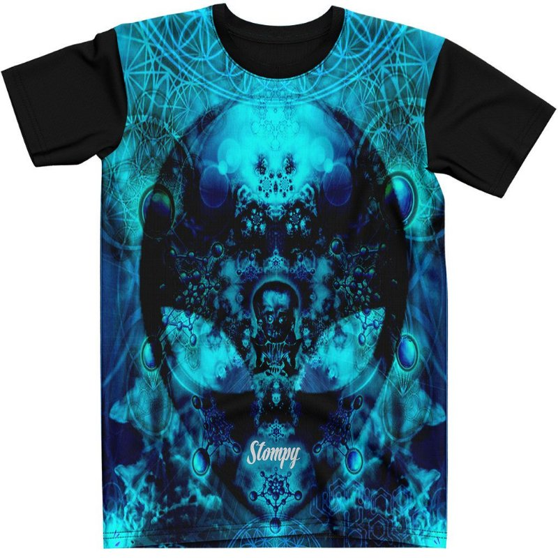 Stompy Camiseta Psicodelica Rave Trippy 51