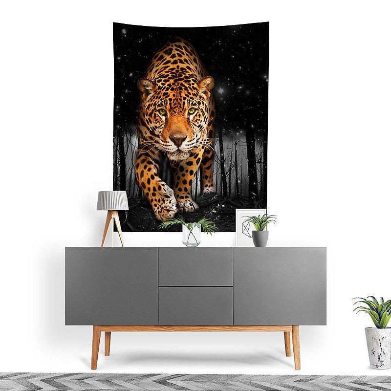 Stompy Tecido Decorativo Tactel Dark Jungle