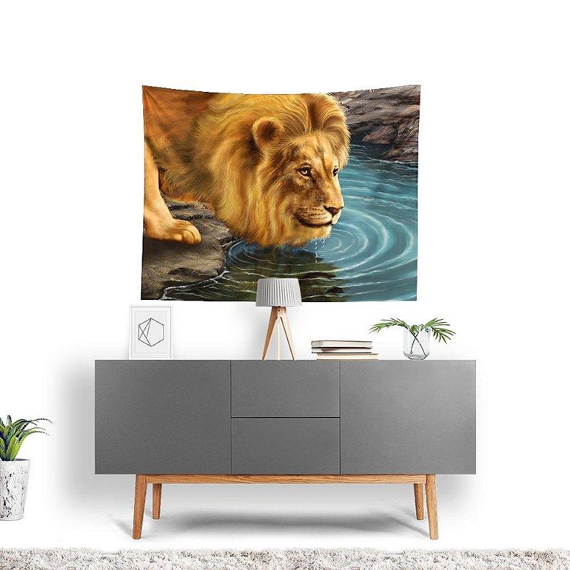 Stompy Tecido Decorativo Tactel Lion