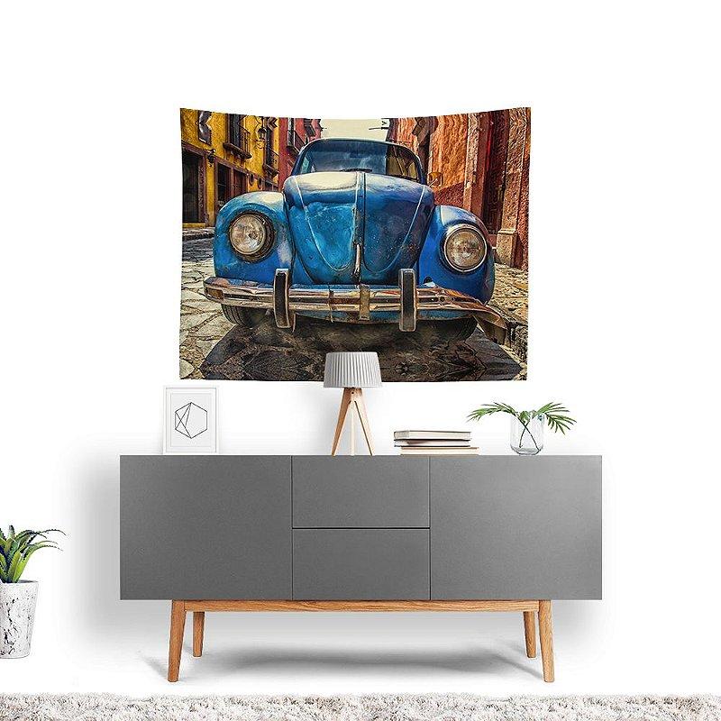 Stompy Tecido Decorativo Tactel Vintage Car