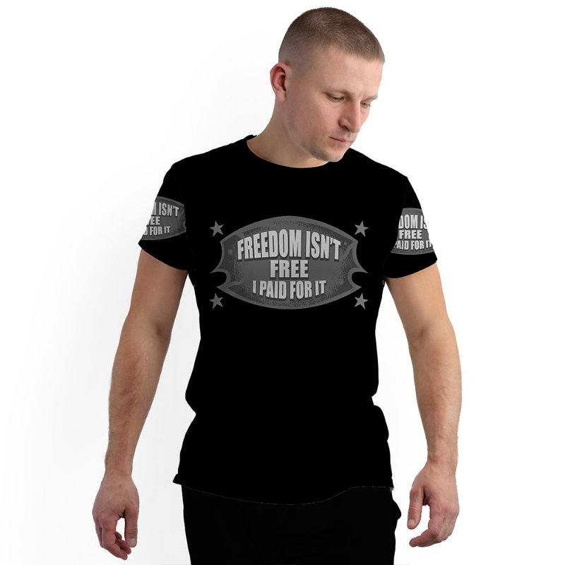 Stompy Camiseta Full Print Military Veterans