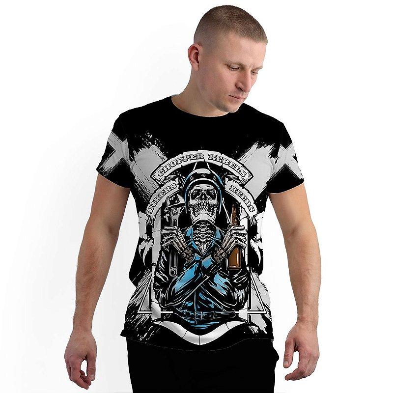 Stompy Camiseta Full Print Chopper Rebels