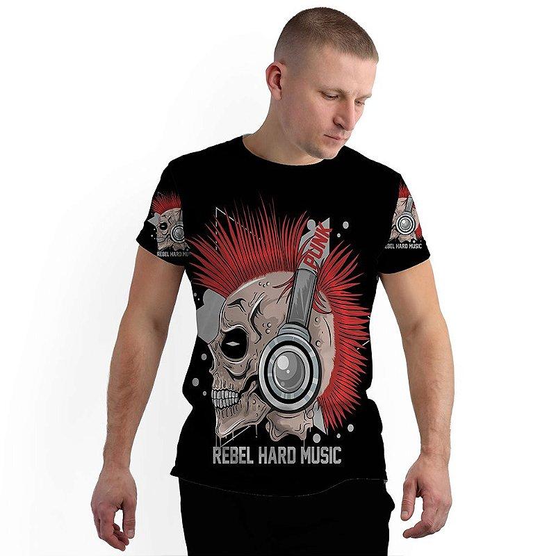 Stompy Camiseta Full Print Rebel Hard Music