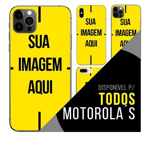 Capa de celular personalizada com foto para Motorola