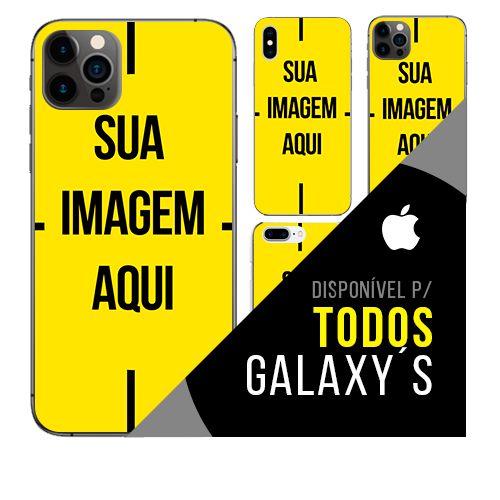 Capa de celular personalizada com foto para Galaxy ´s