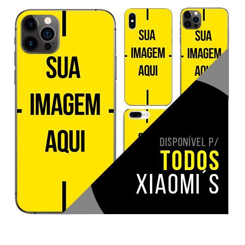 Capa de celular personalizada com foto para Xiaomi ´s