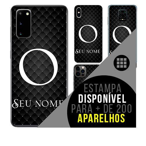 Capa de celular personalizada com nome - Letra O