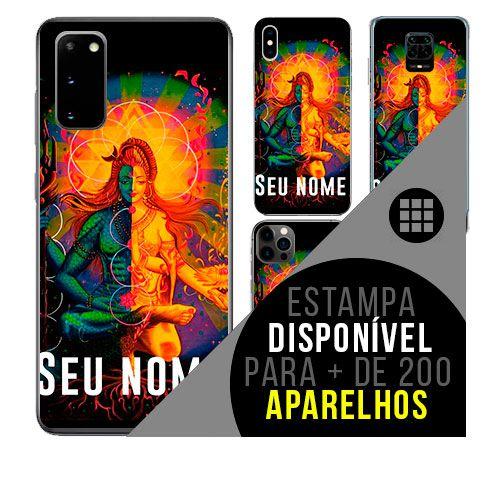 Capa de celular personalizada com nome - todos aparelhos - shiva-hinduismo
