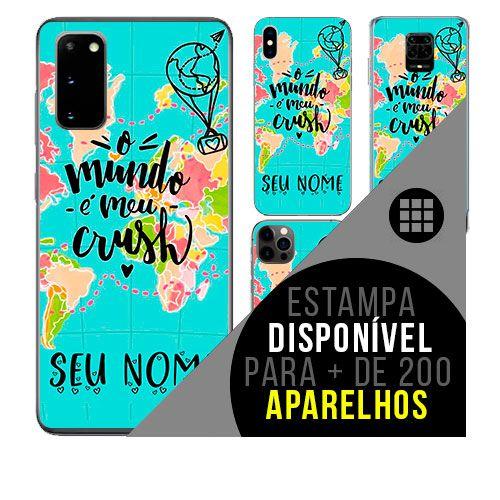 Capa de celular personalizada com nome - todos aparelhos - viagem trip - passaporte 2