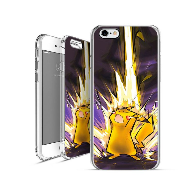 POKÉMON Pikachu 00002  |  apple - motorola - samsung - sony - asus - lg | capa de celular