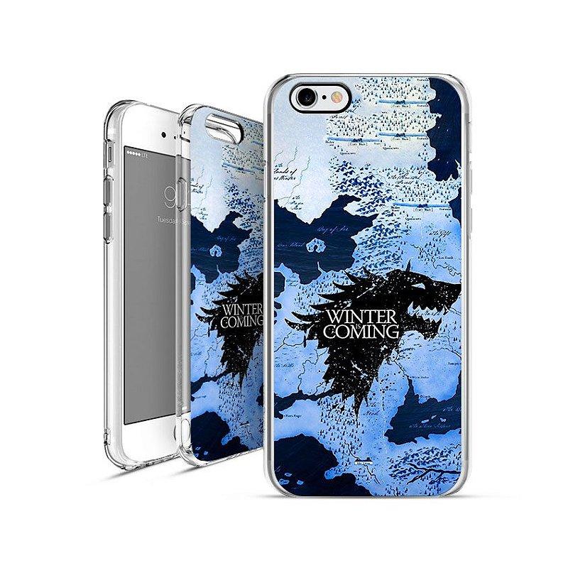 GAME OF THRONES casa-stark  apple - motorola - samsung - sony - asus - lg capa de celular