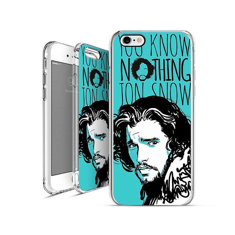 GAME OF THRONES jon-snow| apple - motorola - samsung - sony - asus - lg|capa de celular