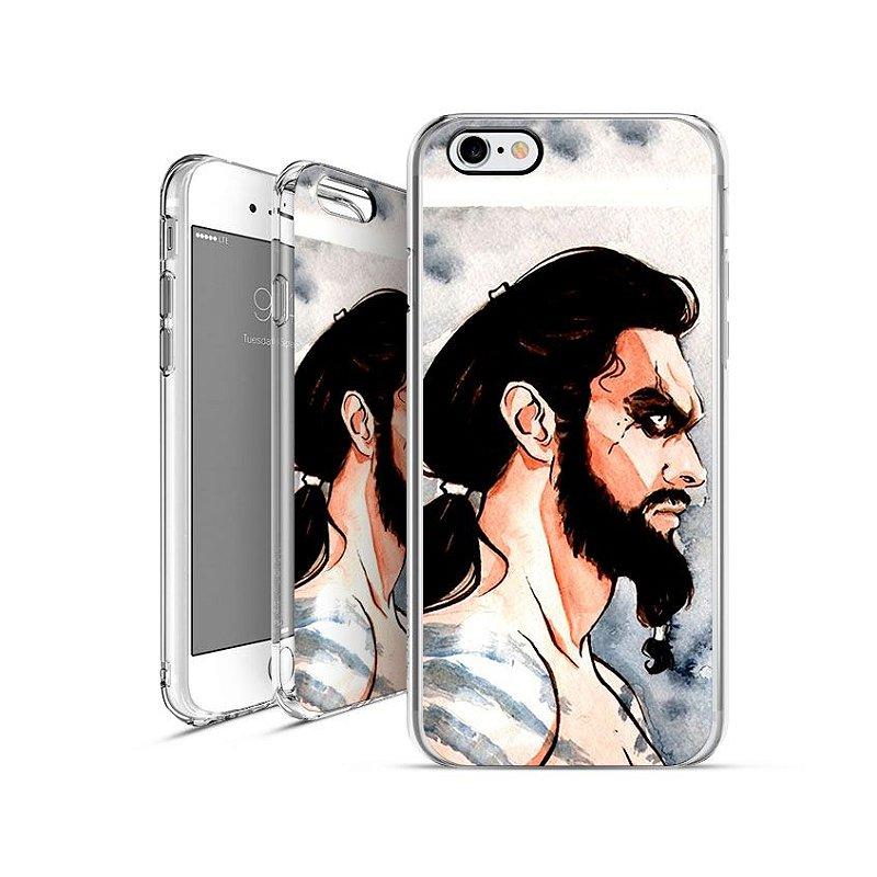 GAME OF THRONES Khal-Drogo  apple - motorola - samsung - sony - asus - lg capa de celular