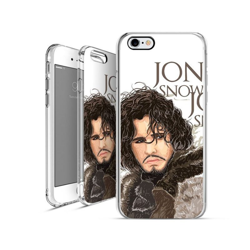 GAME OF THRONES jon-snow 3  apple - motorola - samsung - sony - asus - lg capa de celular