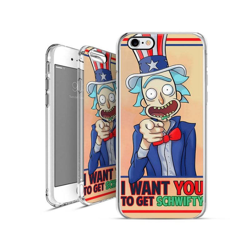 RICK AND MORTY 2 | apple - motorola - samsung -  sony - asus - lg | capa de celular